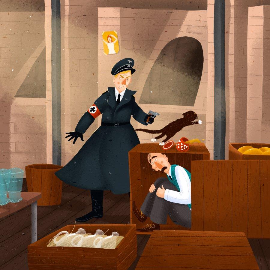 Gestapo ve sklárně